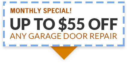 Save Up To $50 On Any Garage Door Repair